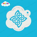 Picture of Celtic Knot  - Dream Stencil - 94