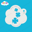 Picture of Cascading Four-Leaf Clovers  - Dream Stencil - 98
