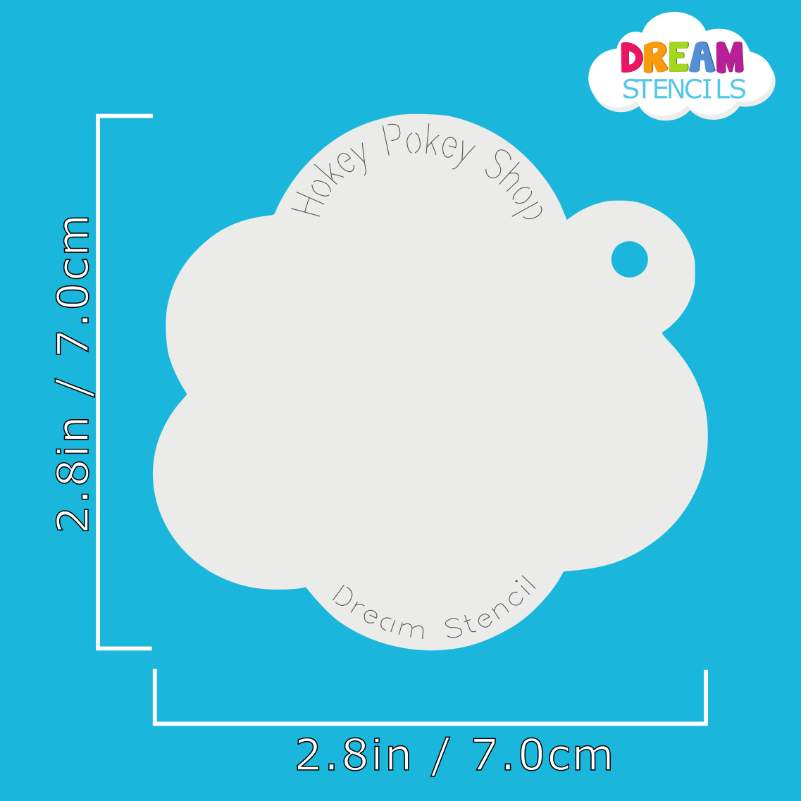 Picture of Sitting Easter Bunny  - Dream Stencil - 109