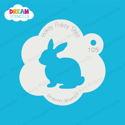 Picture of Bunny  - Dream Stencil - 105