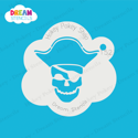Picture of Pirate Skull - Dream Stencil - 152