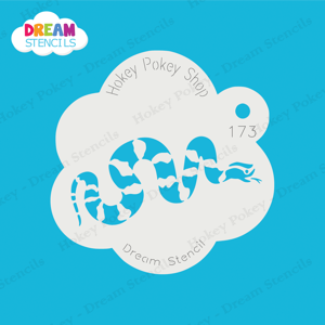 Picture of Striped  Snake - Dream Stencil - 173