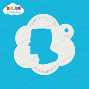 Picture of Frankenstein Face  - Dream Stencil - 180