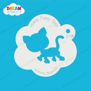 Picture of Cartoon Cat  - Dream Stencil - 218