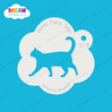 Picture of Walking Cat - Dream Stencil - 213