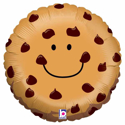 "Picture of 21"" Chocolate Chip Cookie Balloon - Foil balloon"