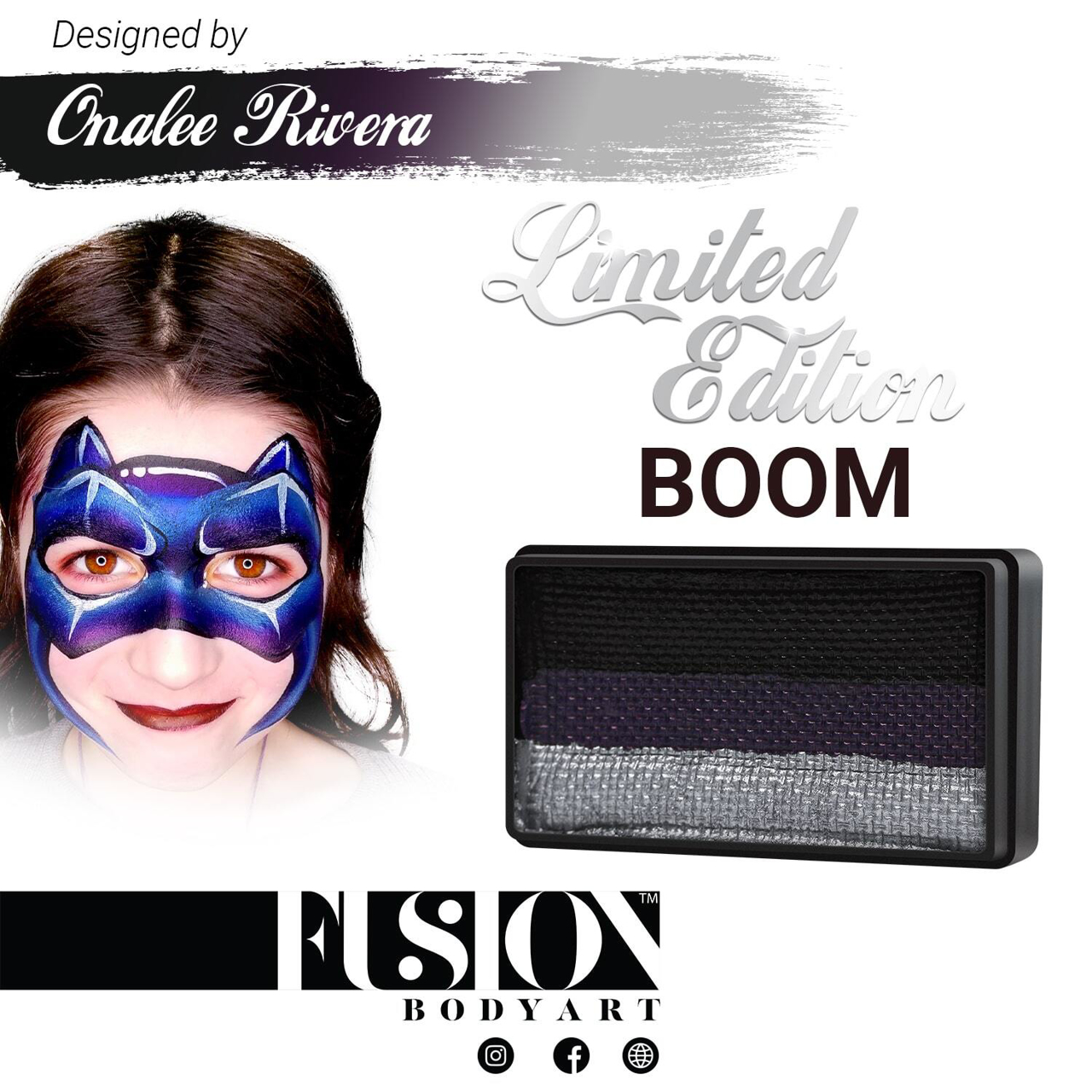 Picture of Fusion Boom Split Cake By Onalee Rivera - 30g